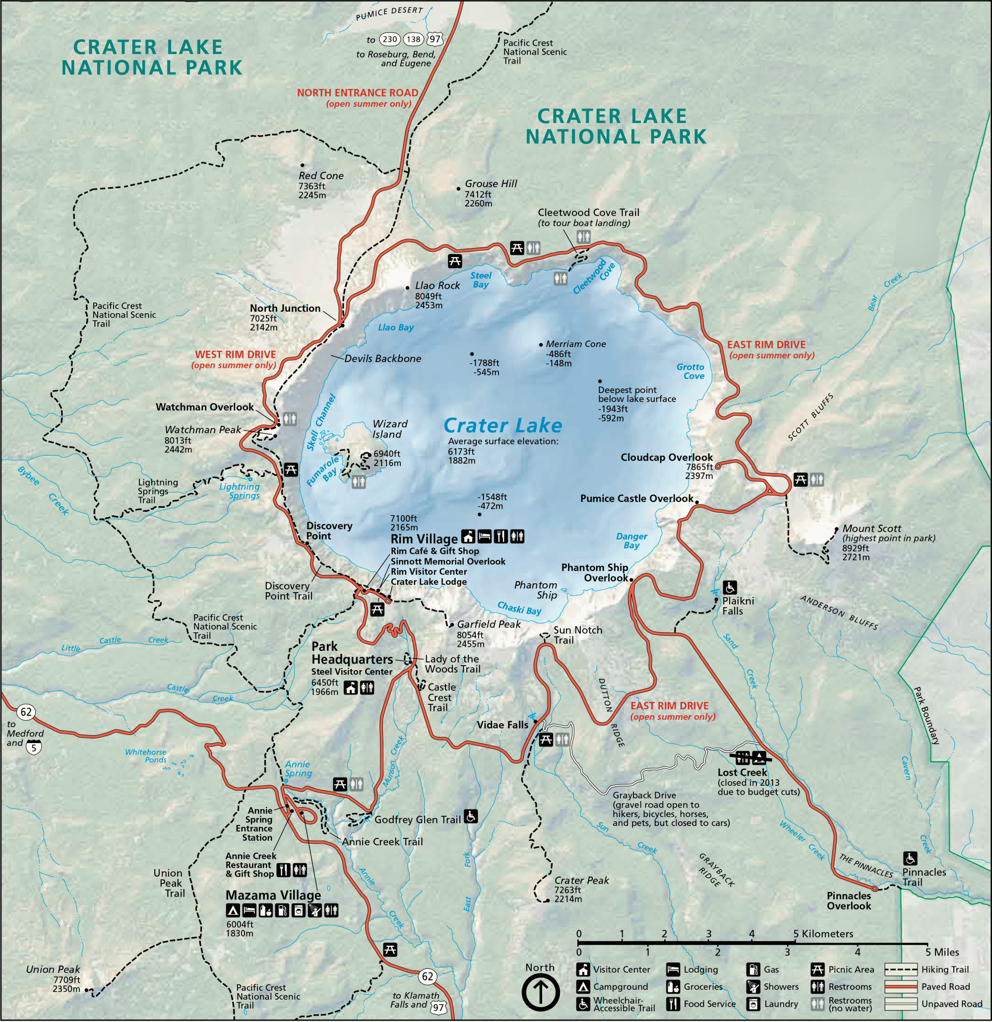 northwest hiker presents hiking in the crater lake national park