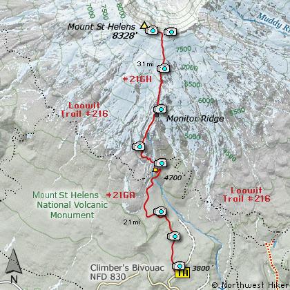 Mount St Helens Climb Hike