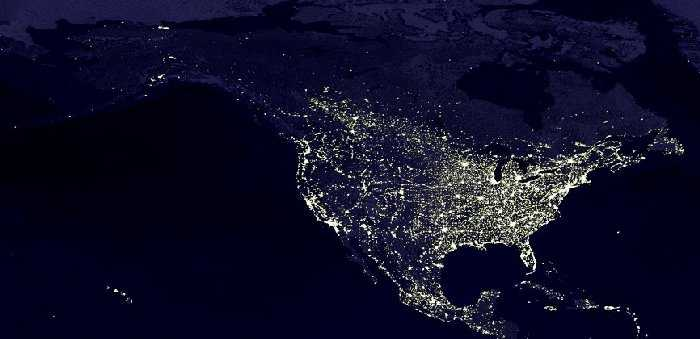 Northwest Hiker presents North America at Night